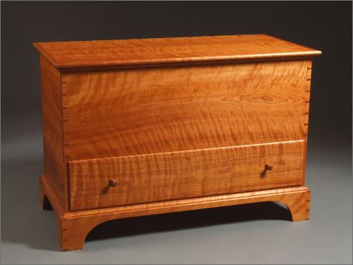Blanket chest w drawer for Blanket chest designs